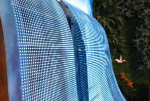Pantalla led transparente