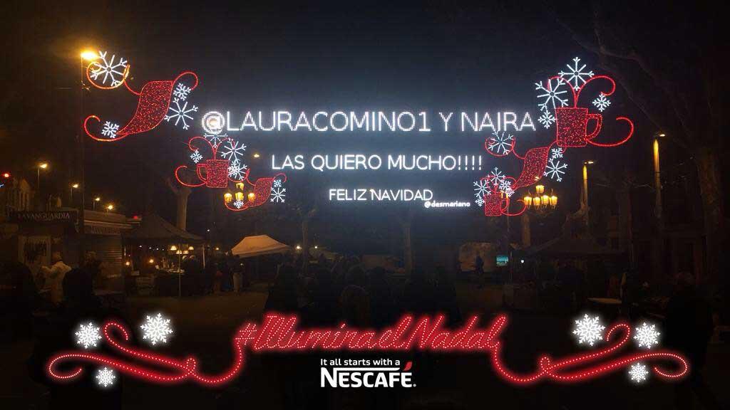 NescafePlazaSarria-LedDream-luces-Navidad-led