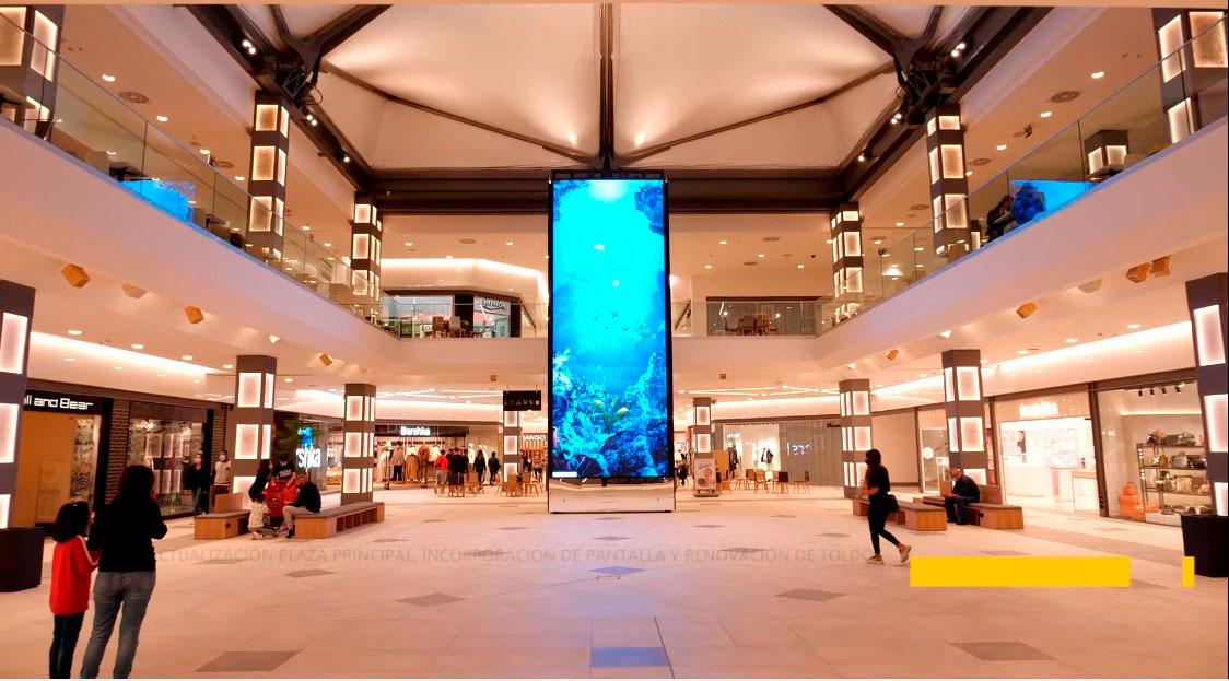Pantalla-LED-centro-comercial-MalagaLedDream