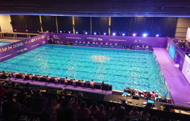 LED DREAM installs two LED screens for the first pre-Olympic Synchronized Swimming event in Barcelona