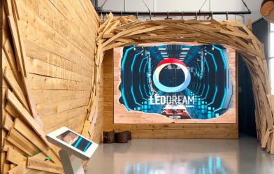 LED DREAM crea experiencias inmersivas con contenidos 3D para sus pantallas LED